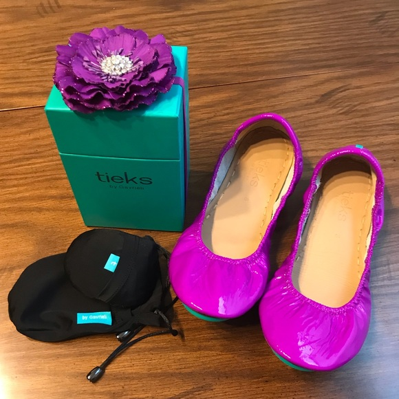 Tieks Shoes   Not For Sale Like New